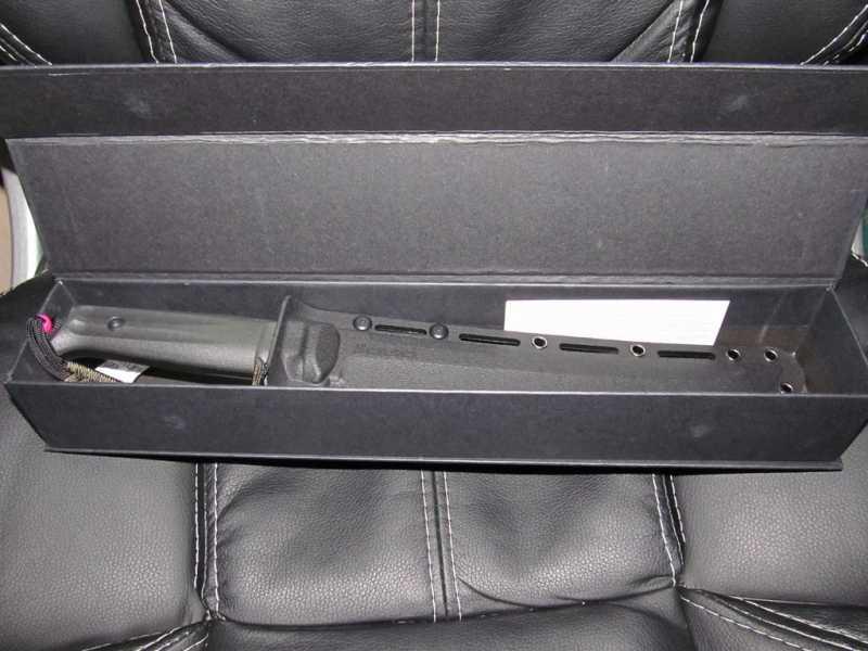 8)Ух Ё! Вот это Кинжал! или Kizlyar Supreme Sensei AUS-8 Black Titanium