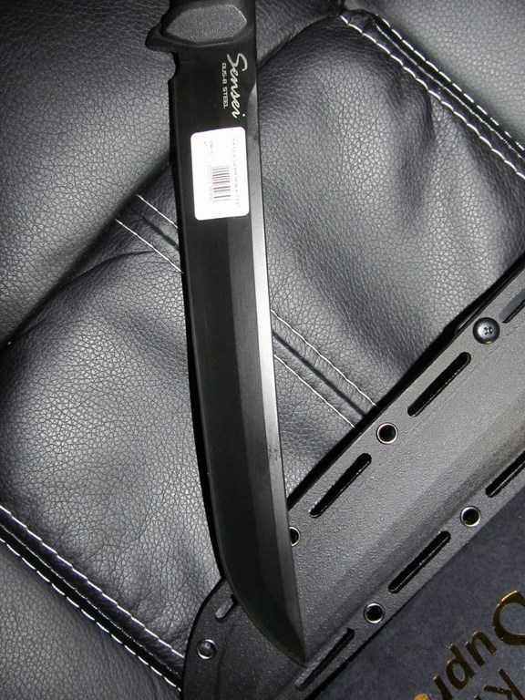 16)Ух Ё! Вот это Кинжал! или Kizlyar Supreme Sensei AUS-8 Black Titanium