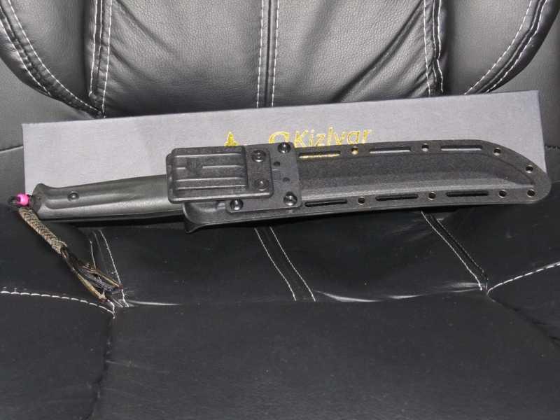 27)Ух Ё! Вот это Кинжал! или Kizlyar Supreme Sensei AUS-8 Black Titanium