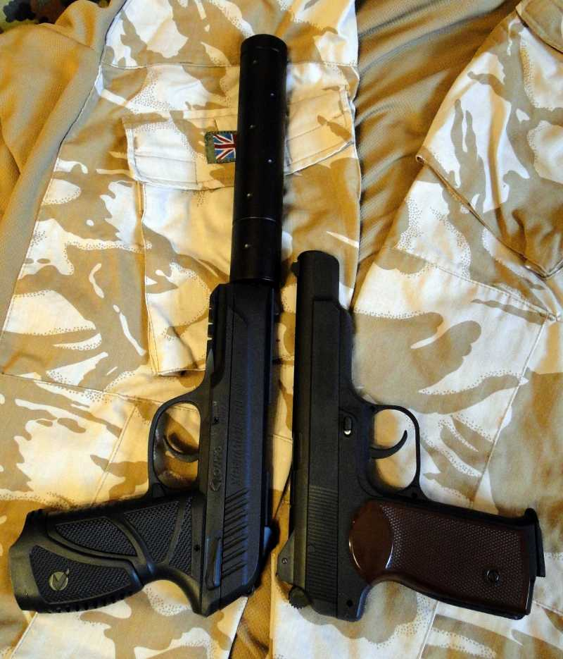 15)Обзор пневматического пистолета GAMO PT-85 Tactical Blowback.