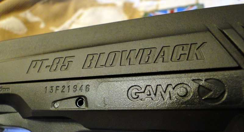18)Обзор пневматического пистолета GAMO PT-85 Tactical Blowback.