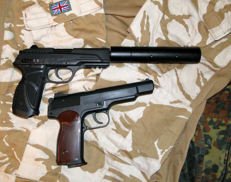 16)Обзор пневматического пистолета GAMO PT-85 Tactical Blowback.