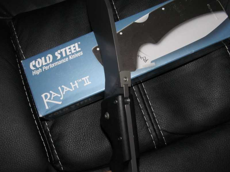 10)Продолжение про кукри Cold Steel Rajah II