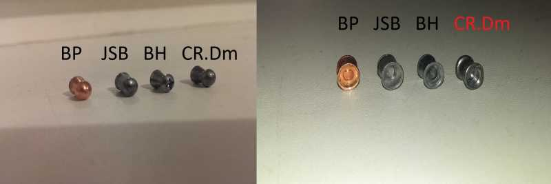 3)Crosman Vantage NP(R8-30020). Тест на убойность на примере 4 видов пуль.