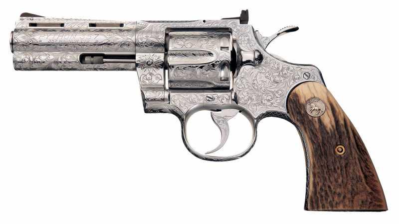 5)Роллс-ройс среди револьверов –Кольт Питон!