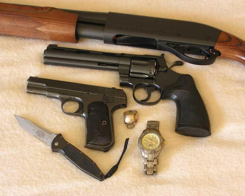 7)Роллс-ройс среди револьверов –Кольт Питон!