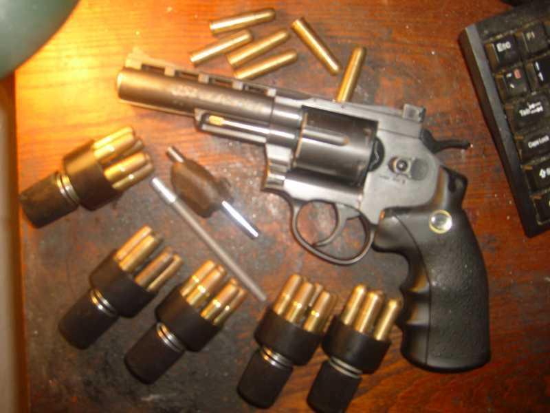 6)Муки выбора! Какой шаровой револьвер лучше!