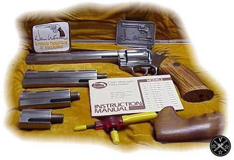 Револьвер Dan Wesson со сменными стволами и рукояткой