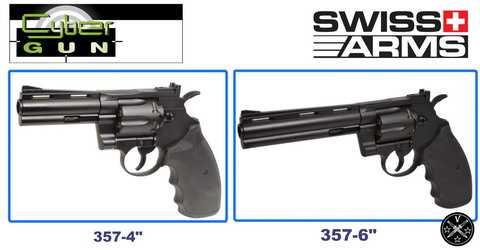 Револьверы airgun SwissArms