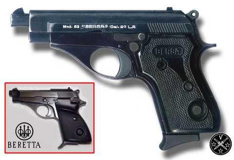 Первые модели пистолетов Берса
