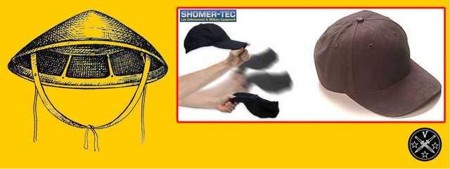 Оружие маскированно под шляпу или кепку