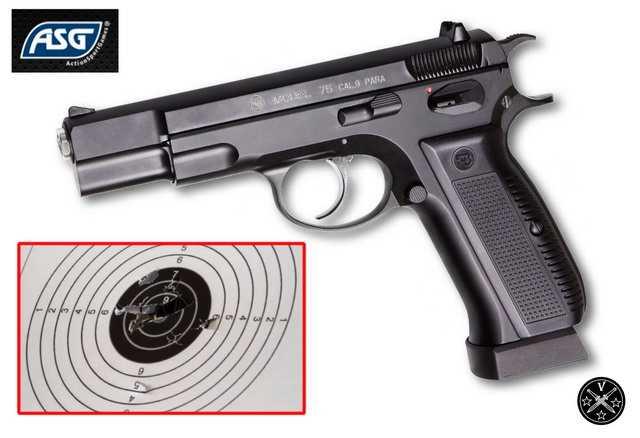 Пневматический пистолет ASG CZ 75