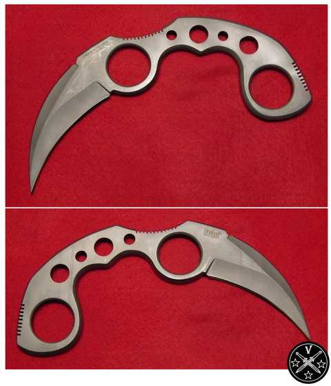 Нож керамбит компании Юнайтед скелетного типа