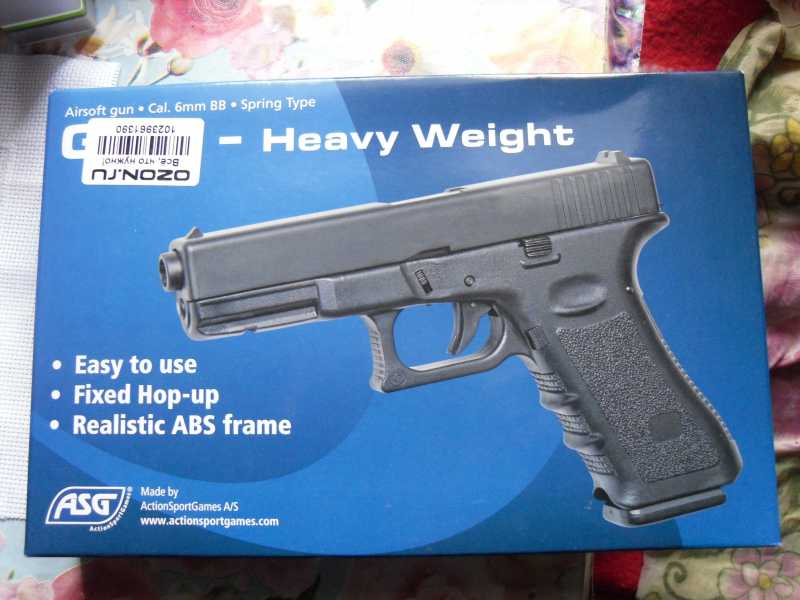1)Обзор пистолета G17 от компании ASG