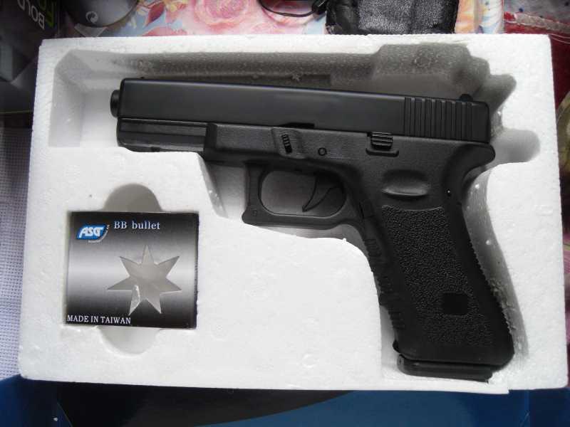 2)Обзор пистолета G17 от компании ASG