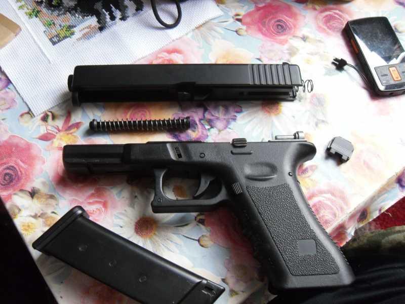 14)Обзор пистолета G17 от компании ASG