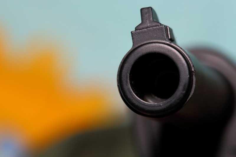 6)Smersh H14, неудачная копия легендарного пистолета.