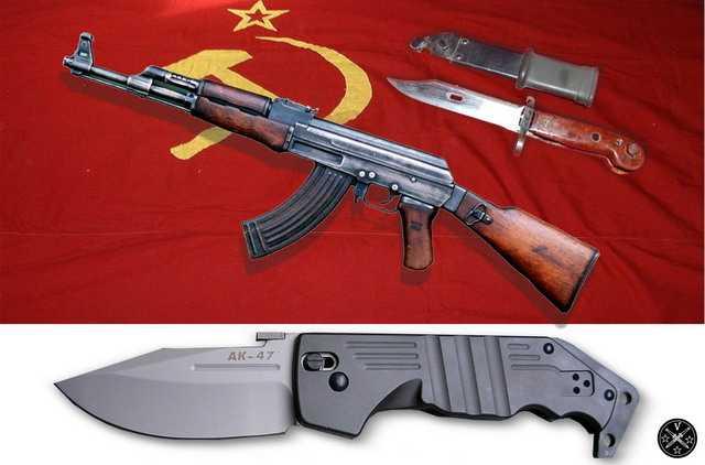 Нож AK-47 первых выпусков