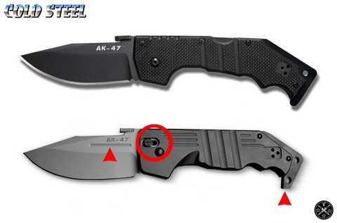 Нож тактический АК-47 c замком Tri-Ad Lock