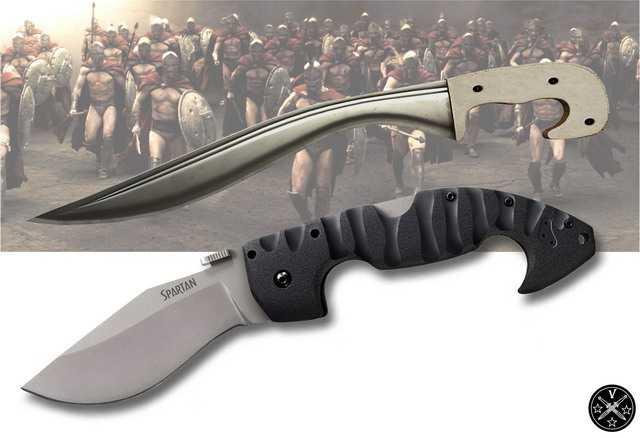 Мощный тактический нож Spartan