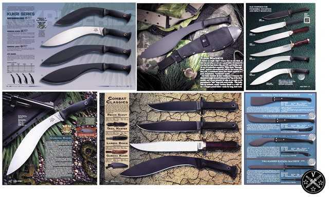 Непальские мачете Кукри в каталогах Cold Steel