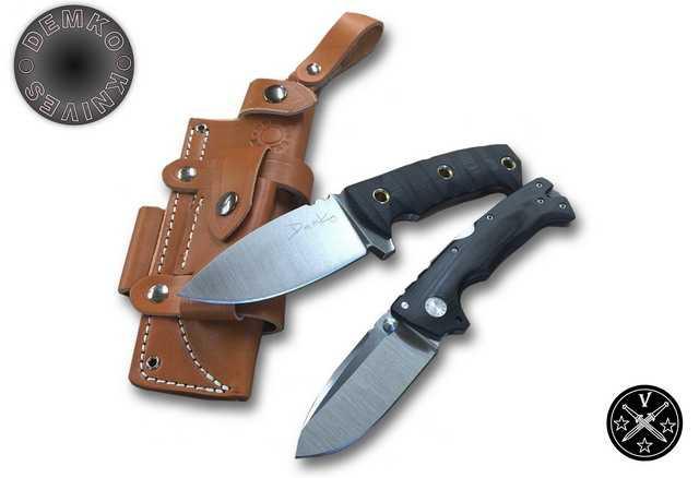 Один из последних авторских ножей Демко - Ad10