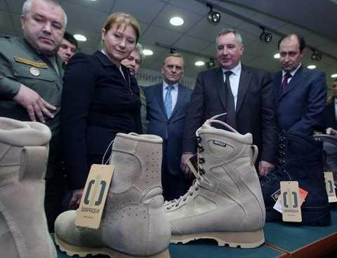 Обувь из экипировки Ратник