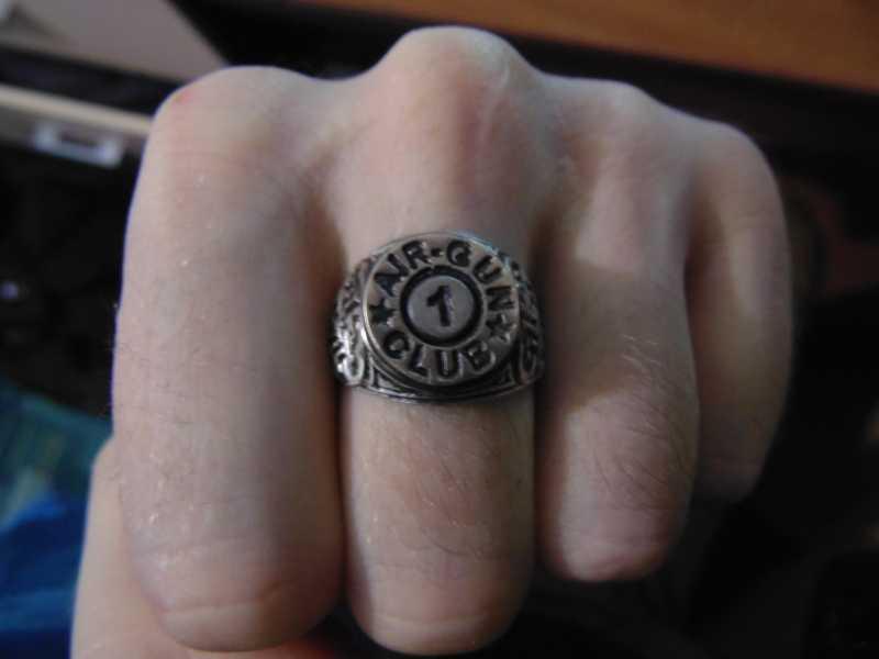3)Кольцо AiR-GUN к праздникам