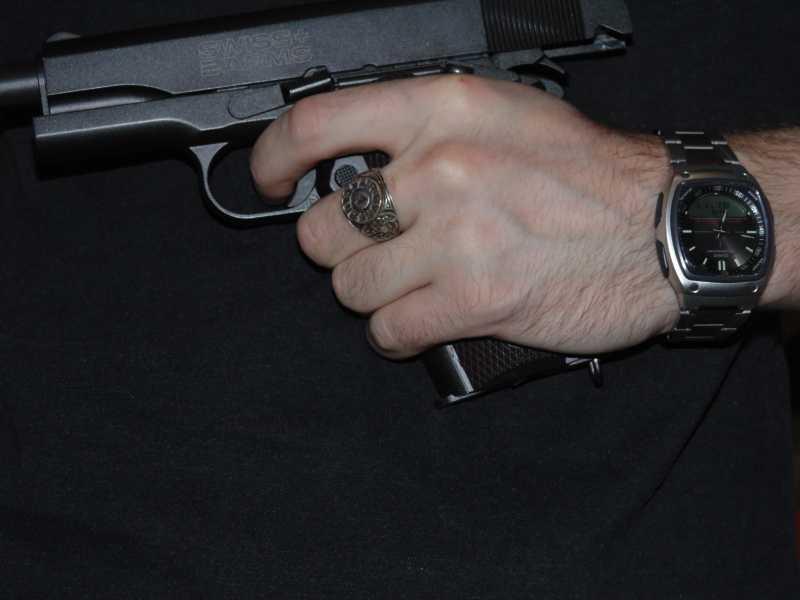 8)Кольцо AiR-GUN к праздникам