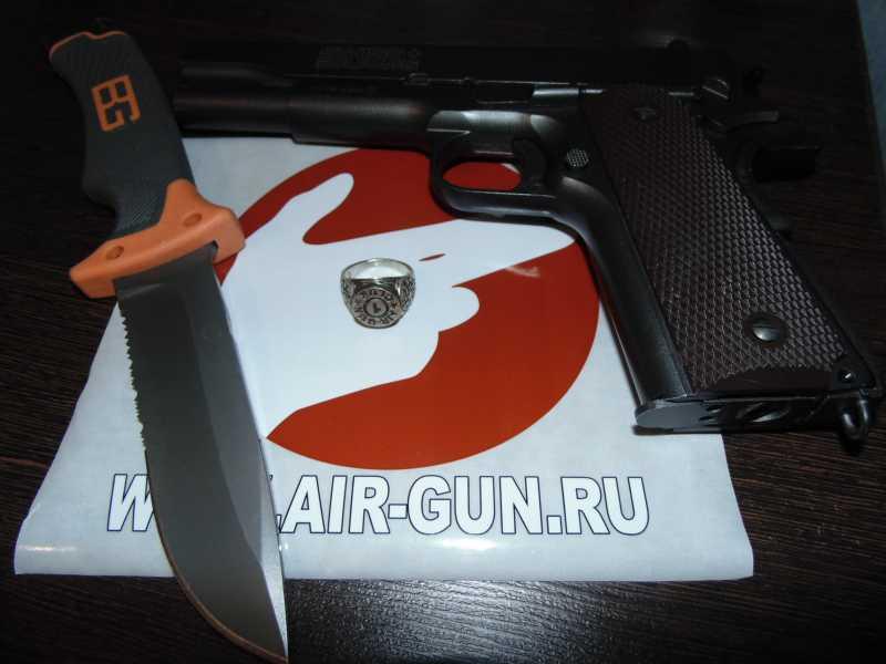 10)Кольцо AiR-GUN к праздникам