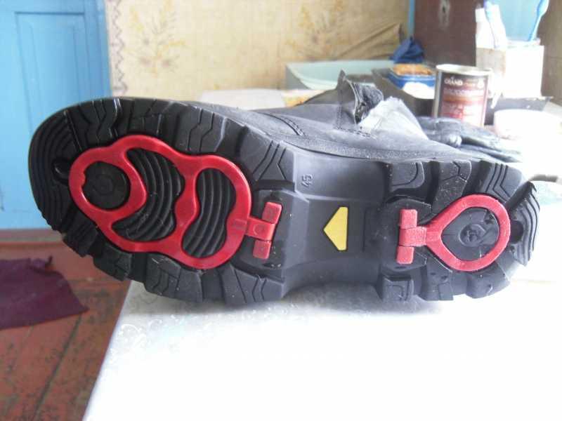 6)Обзор ботинок с высоким берцем от компании Garsing
