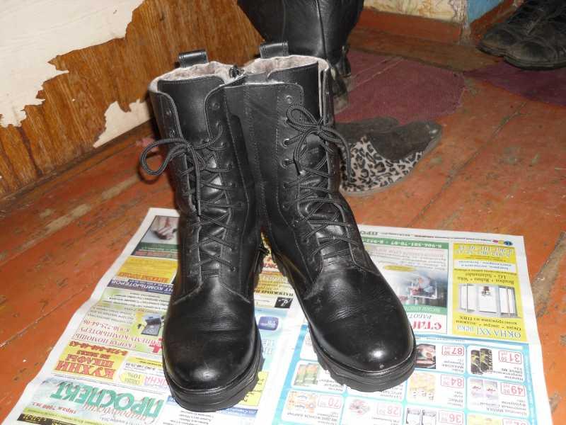 3)Обзор ботинок с высоким берцем от компании Garsing