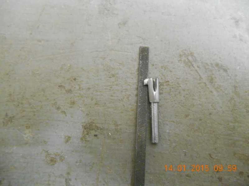 7)Технологический процесс коленочного изготовления затворной задержки