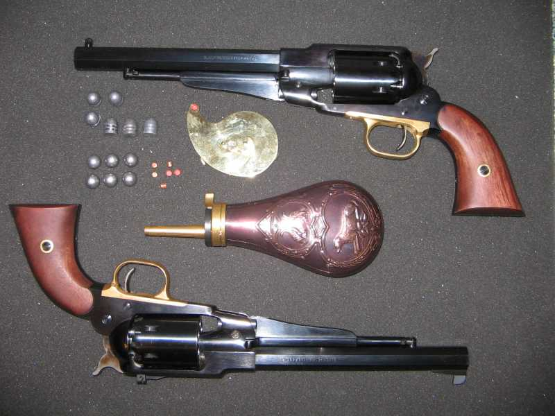 1)REMINGTON Model 1858 New Army .44 Caliber Revolver