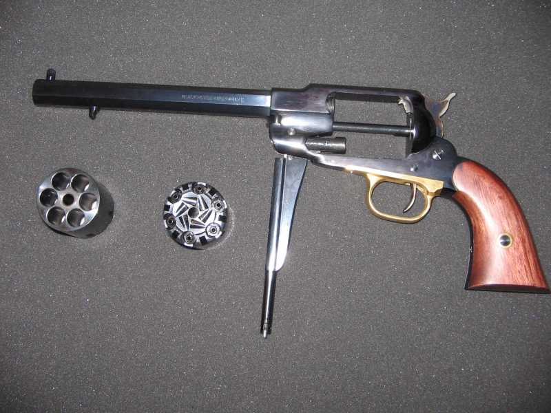 2)REMINGTON Model 1858 New Army .44 Caliber Revolver