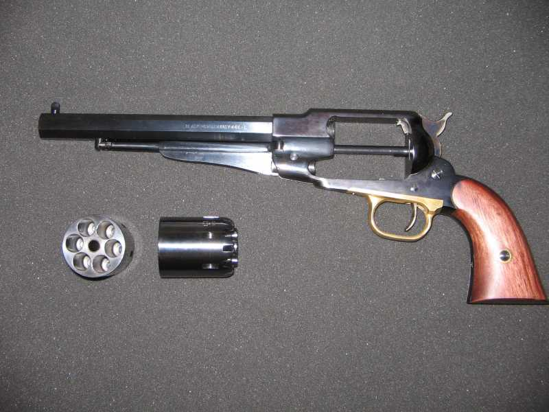 3)REMINGTON Model 1858 New Army .44 Caliber Revolver