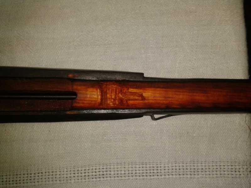 4)Пневматическая винтовка Мосина.