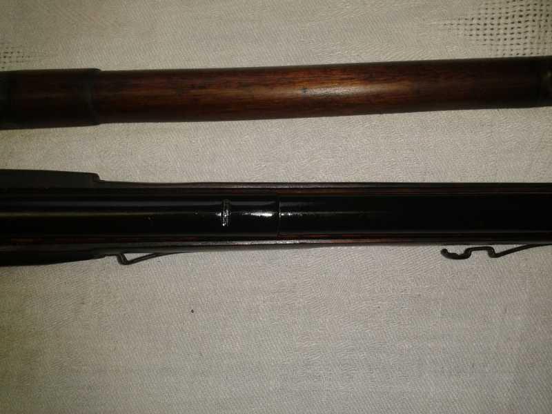 7)Пневматическая винтовка Мосина.