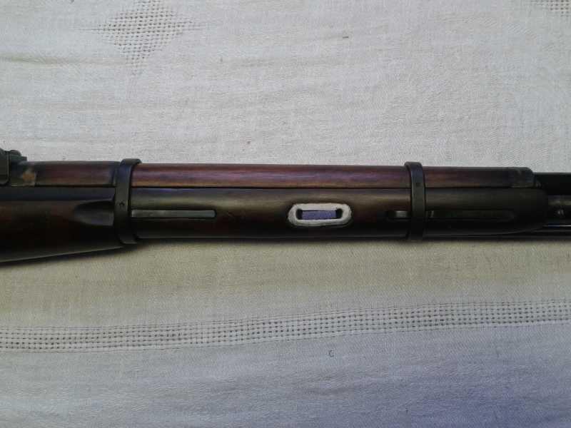 8)Пневматическая винтовка Мосина.