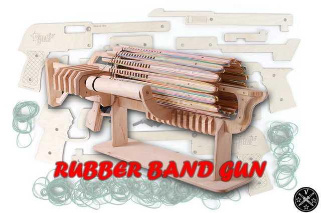Резинкострелы - Rubber Band Gun