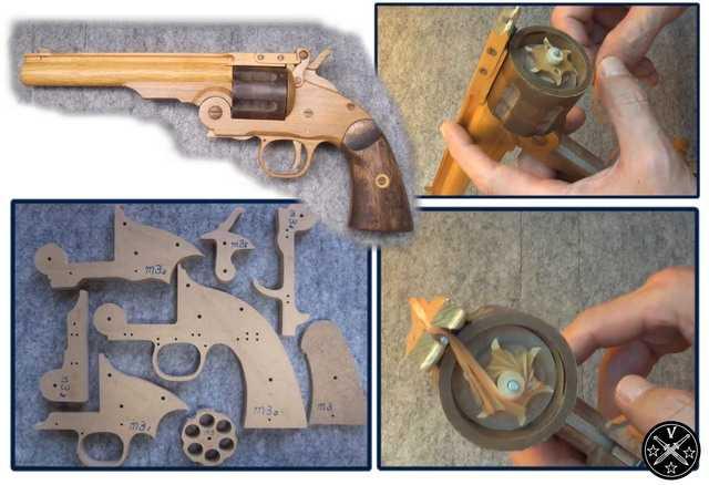 Резинкострел Smith and Wesson