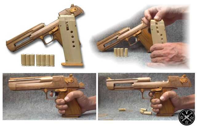 Резинкострел Desert Eagles