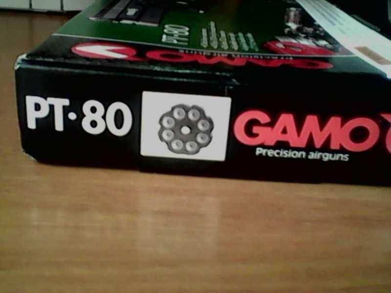 2)Gamo PT-80