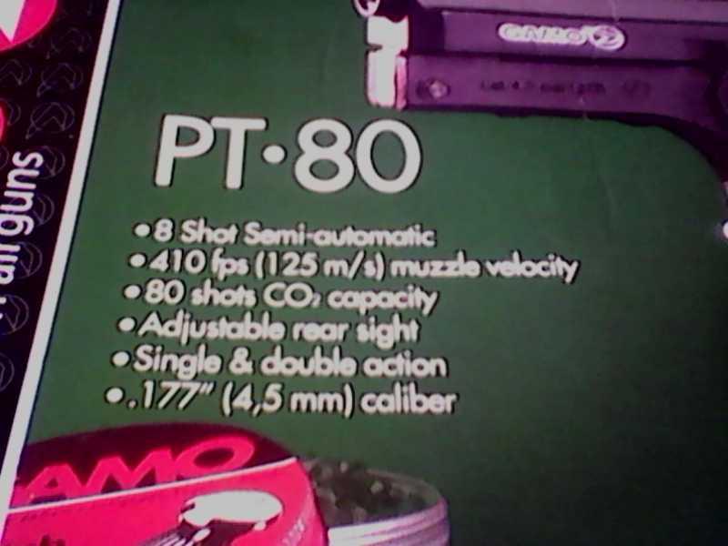 3)Gamo PT-80