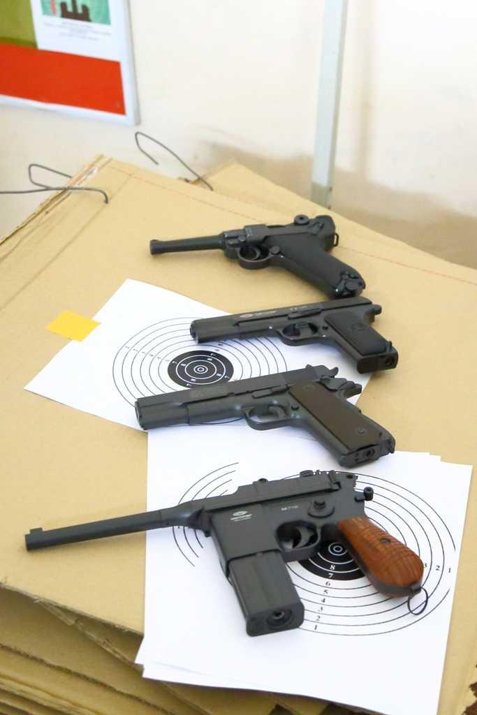 6)Соревнования по стрельбе? Легко!
