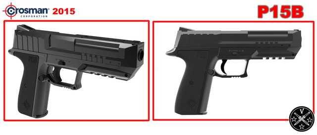Пневматический пистолет P15B