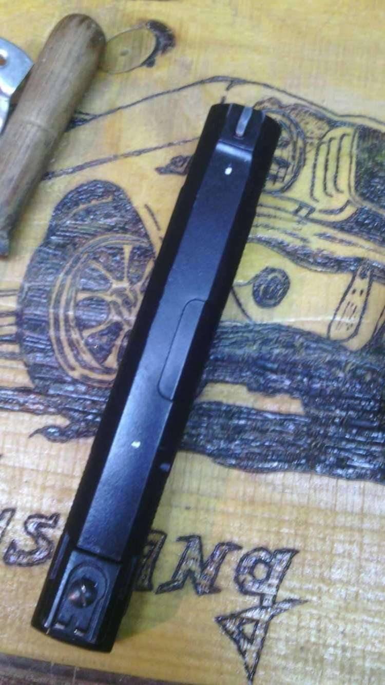 6)Монтируем планки weawer на Аникс