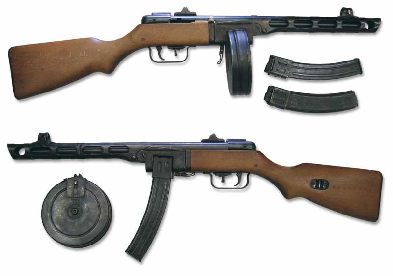2)Пневматический ППШ-41 «MP-562K». Обзор и фото.
