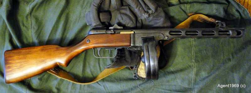 9)Пневматический ППШ-41 «MP-562K». Обзор и фото.