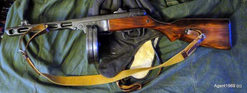 10)Пневматический ППШ-41 «MP-562K». Обзор и фото.